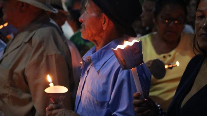 Guiados Pela Luz Das Cadeias Romeiros Se Despedem De Juazeiro Do Norte