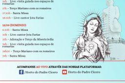Horto Do Padre Cícero Divulga Programação Da Festa E Romaria Virtual De Nossa Senhora Das Dores