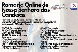 Romaria Online De Nossa Senhora Das Candeias